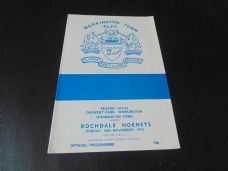 Workington Town v Rochdale Hornets, 1975/76